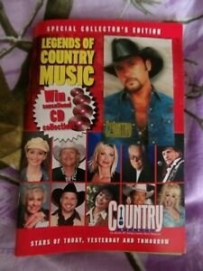 Country Weekly Magazine Special Collector's Edition Legends of Country Music