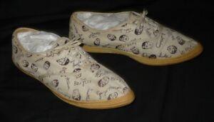 Beatles Very Hard-To-Find Original 1964 Pair of Wing Dings Tennis Shoes/Sneakers