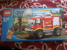 LEGO City 4208 Forest Fire Truck 2012 Engine - Sealed