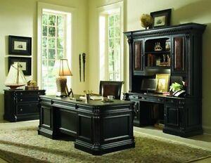 Hooker Furniture Telluride Black Office Executive Desk