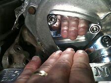 Presupuesto de Aleación de Aluminio Pulido Kit + Taladro Pergola moto rueda CARCASA lateral