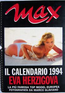 Calendario Max.Details About Calendar Sexy Eva Herzigova Nude Calendar Max 1994 Show Original Title