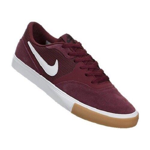 Nike sb 9 paul rodriguez 9 sb rv skateboard uomini scarpe rosso 819844-612 10,5 nuove dimensioni 02d15b