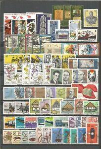 DDR 1981 gestempelt kompletter Jahrgang