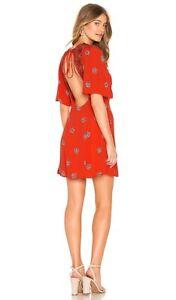 Bobeau Womens Morna Floral Butterfly Sleeve Party Mini Dress BHFO 0783