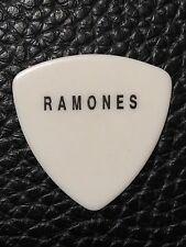 GUITAR PICK - THE RAMONES - JOHNNY RAMONE REAL CUSTOM TOUR PICK