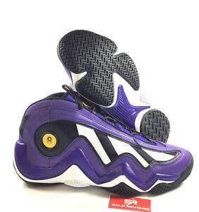 39ee2187ad59 NEW! 13 Mens Adidas Crazy 97 EQT Elevation Kobe Bryant Purple Lakers ...