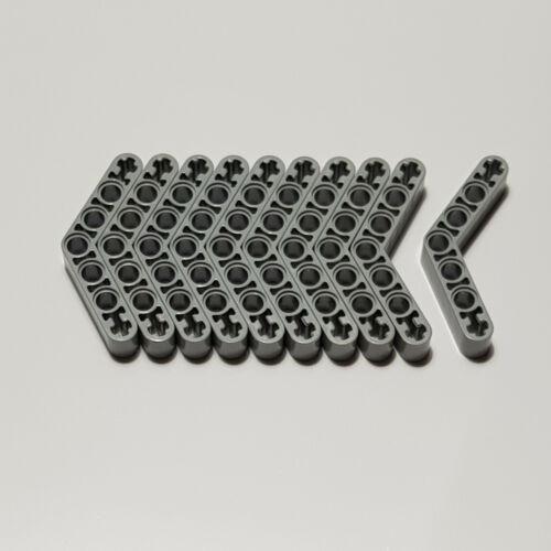10x LEGO ® Technic Nouveau Liftarm 1x7 plié 4-4 32348 gris clair technique 4210656 nouveau
