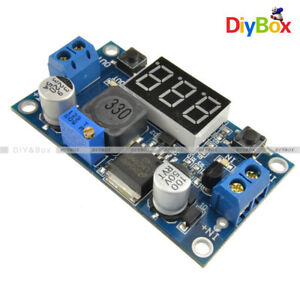 LM2596-Buck-Step-down-Power-Converter-Module-DC-4-0-40-to-1-3-37V-LED-Voltmeter
