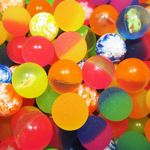 Creative Colorful Bouncy Bouncing Floating Elastic Ball Outdoor Party Kids Toys