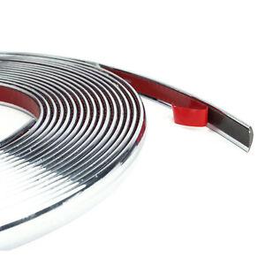 Striscia-Cromata-Adesiva-Nastro-Adesivo-Profilo-Auto-Decorazione-6metri-10mm-hsb