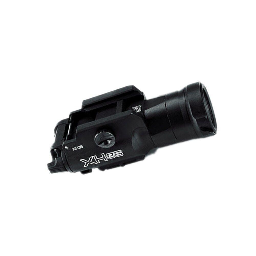 XH35 LED Tactical Light Brightness Adjustment & Strobe White Light flashlight