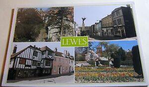 England-Lewes-Multi-view-PSX00830-DRG-J-Arthur-Dixon-posted-1988