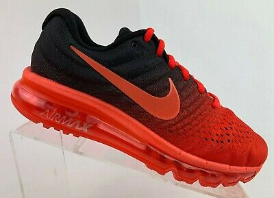 premium selection c2d0e 0a162 Nike Air Max 2017 Bright Crimson Size 15 Black Total Crimson 849559-600