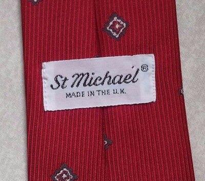 Cosciente Vintage Cravatta Da Uomo Cravatta Club Associazione Società St Michael- I Colori Stanno Colpendo