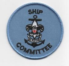 "Sea Scout Ship Committee Position (New Design), 3"" Round, ""Since1910"" Back"