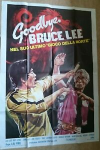 ORIGINAL-LARGE-ITALIAN-MOVIE-POSTER-GOODBYE-BRUCE-LEE-1975