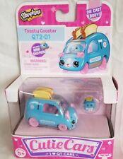 NEW Shopkins Cutie Cars QT2-01 Toasty Coaster Die Cast Body Toy Car