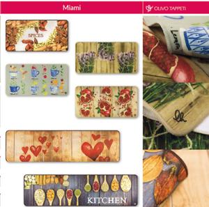 Olivo-shop-MIAMI-tappeto-passatoia-antiscivolo-cucina-Varie-misure-e-fantasie
