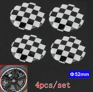 4pcs-Check-Grid-Wheel-Center-Hub-Cap-Badge-Emblem-Sticker-For-Mini-Cooper-52mm