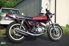 Kawasaki H1 500 Triple 1974 H1e RED Decal set - The BEST!