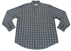 NWOT-Eddie-Bauer-Mens-XL-Long-Sleeve-Button-Down-Shirt-100-Cotton