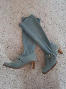 Görtz 17 Vintage Jeans Denim Stretch Stiefel, mit Schnalle, Größe 38 - Herrenberg, Deutschland - Görtz 17 Vintage Jeans Denim Stretch Stiefel, mit Schnalle, Größe 38 - Herrenberg, Deutschland