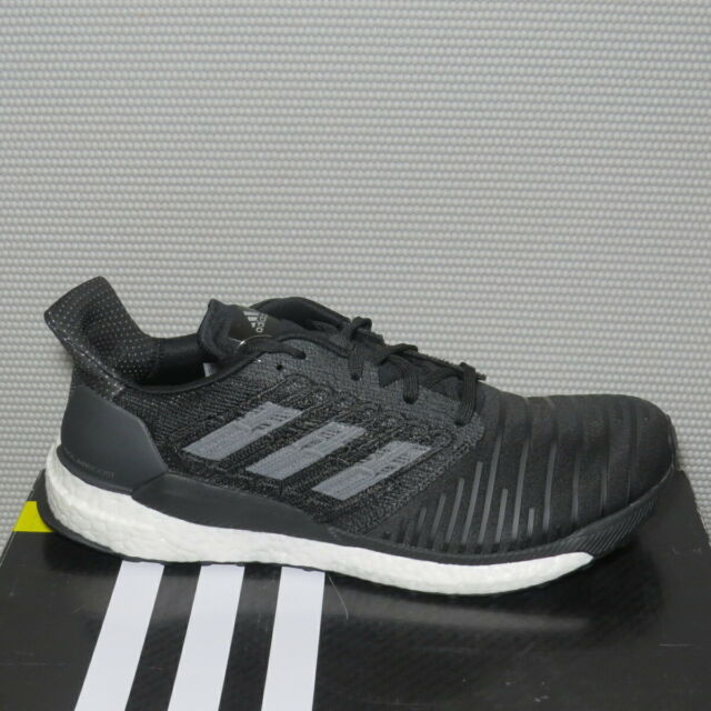 Creyente paso Oh  adidas Cq3171 Solar Boost Mens Black Grey Four Mesh Running Shoes Size 12  for sale online | eBay