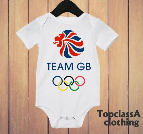 Baby Bodysuit Olympics Great British Sports GB Britain Champions cloth online