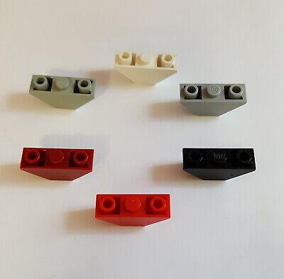 Lego 4287 Schrägstein Dachstein invertiert 3x1 Weiß 3 Stück 20