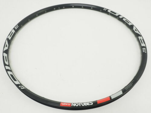 "New Stan/'s No Tubes Rapid 25 Rim 32H Count 26/"" Black RTRP60002"