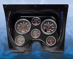 67  Firebird Cf Dash Panel W   Sport Comp Gauges