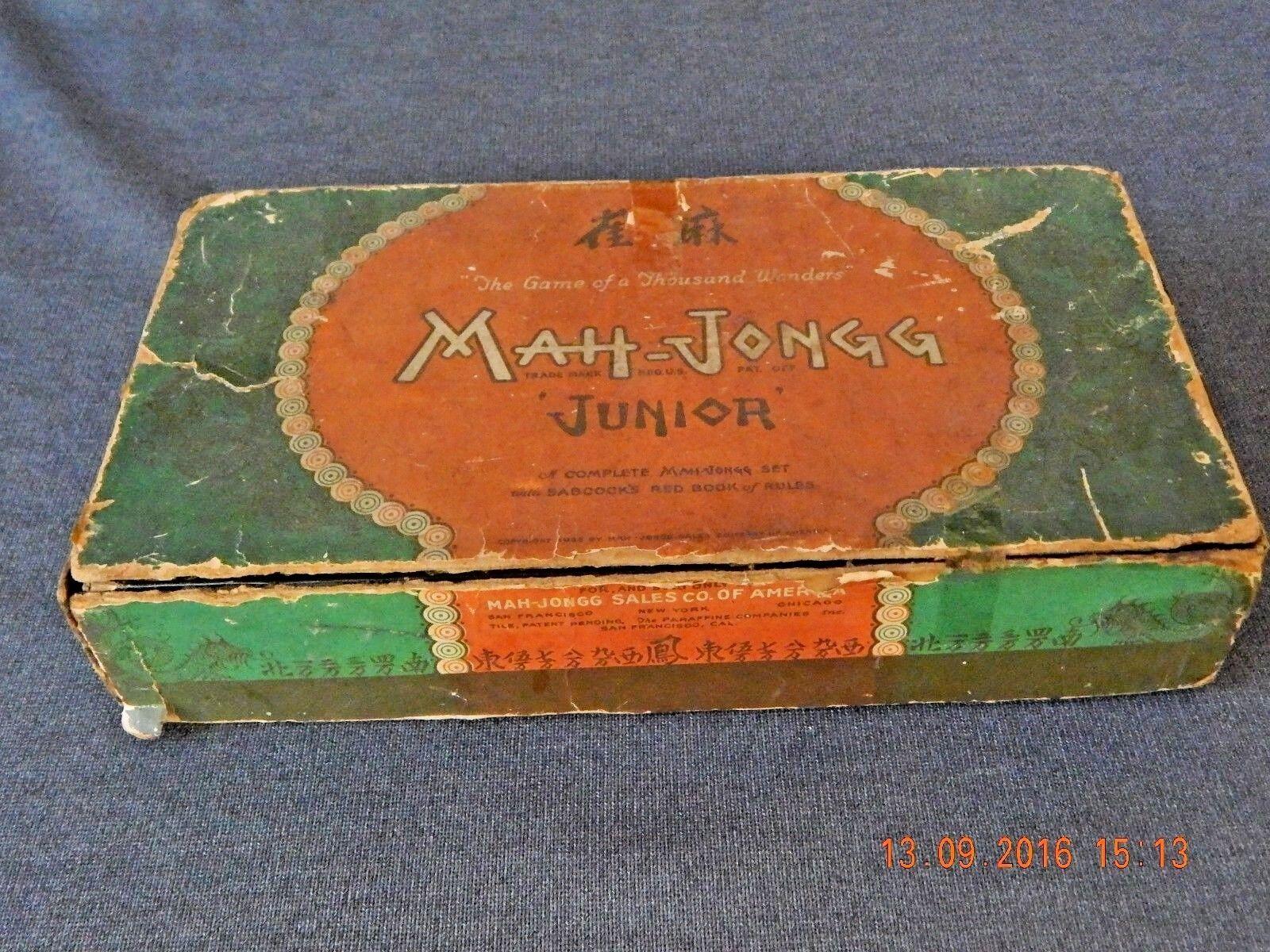 Vintage Mah-Jongg Junior Game