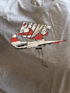 Détails sur Nike Air Max 1 Og Red Tee Shirt XLM Vintage Rétro Atmos Patta Parra Off White