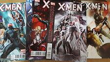 X-men Comic Lot 2010 1-21 23-31 36-38 15.1 vf+ bagged