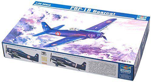 Trumpeter - Avion  F8F-1B Bearcat Echelle 1 32. Référence 542284  100% garantie d'ajustement