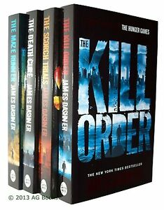 The-Maze-Runner-4-Book-Trilogy-Books-James-Dashner-Young-Adult-New