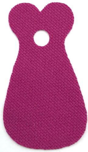 Lego New Magenta Minifigure Cape Cloth 2 Round Collars in Front Rounded