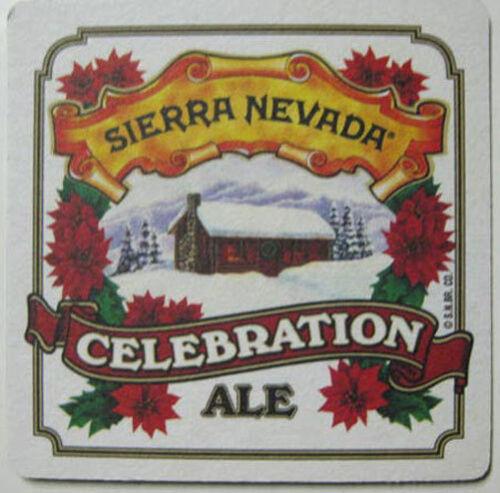 CALIFORNIA Mat SIERRA NEVADA CELEBRATION ALE Beer COASTER