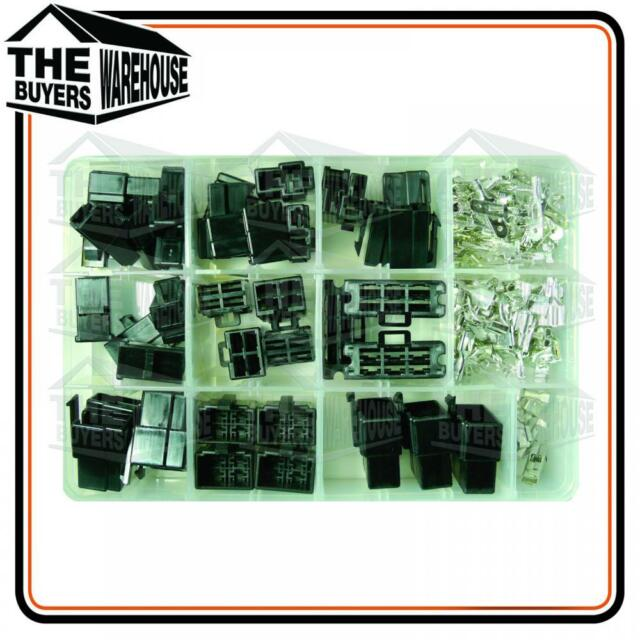 HOUSING CONNECTOR ASSORTMENT KIT MALE/FEMALE QUICK CONNECT TERMINALS QK SERIES.