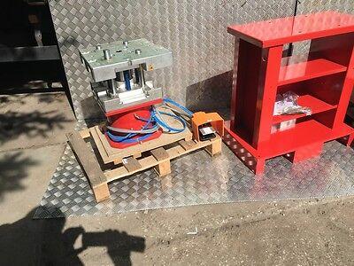 Neu Pneumatikpresse Stanze Wicona Hydro 5040002 Incl 10 Werkzeuge