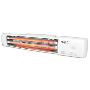 Infra Red Wall Mounted Heater Garage Workshop Bathroom Radiant