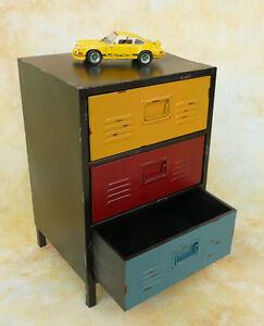 Container-Schubladenschrank-Kommode-Werkstattmoebel-Spind-Nachttisch-MU472-a