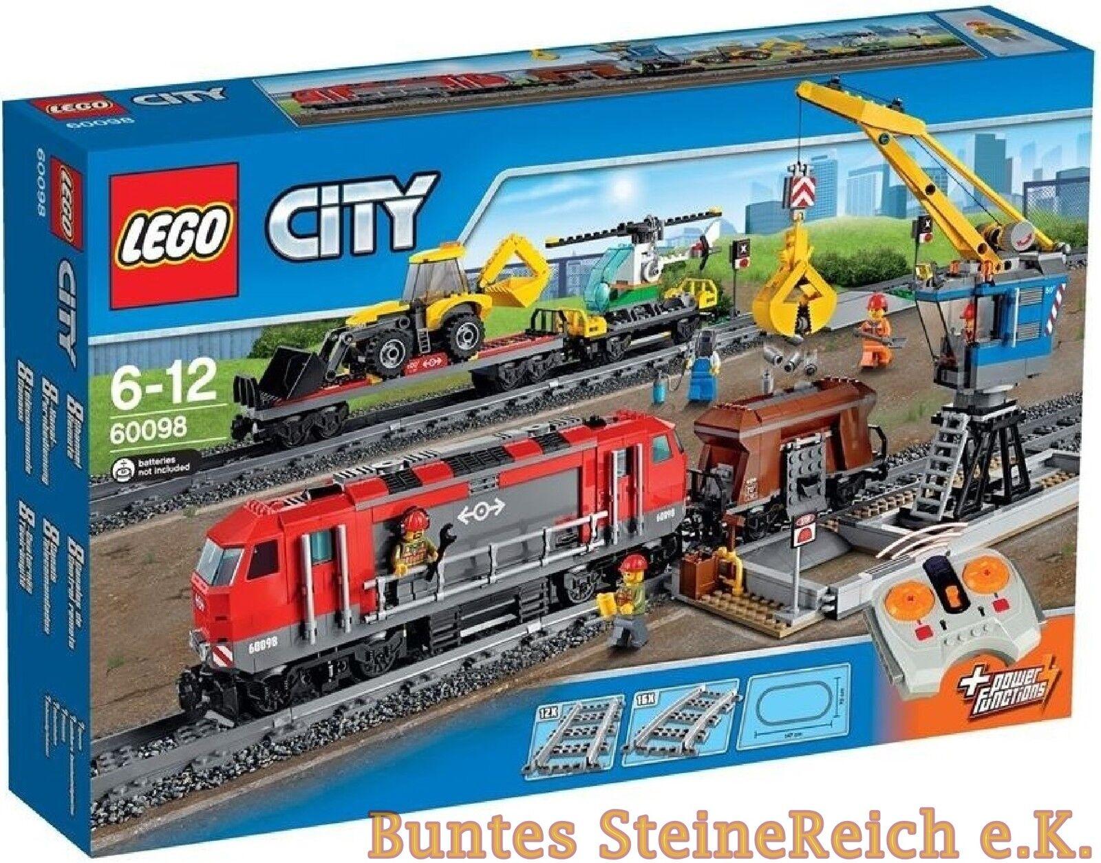 LEGO ® City: 60098 difficile autotreno & 0.€ Spedizione & Scatola Originale & Nuovo