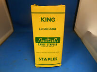 King Cable Staples 2-3 Seu Large Box Of 100
