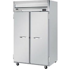 Beverage Air Hr2 1s 52 Inch Two Section Solid Door Reach In Refrigerator Ul Ep