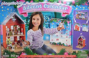 PLAYMOBIL-70383-Adventskalender-Weihnachten-im-Stadthaus-Haus-Kalender-NEU