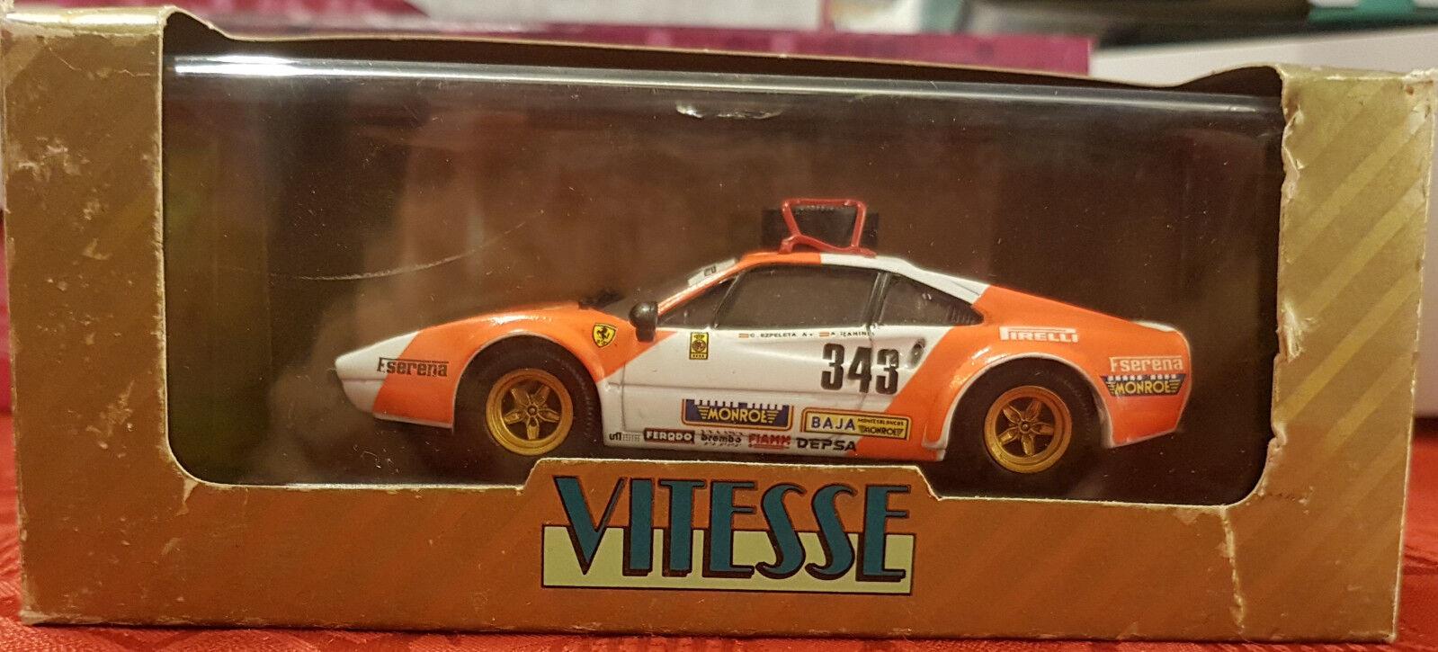 Vitesse Limited Edition - Ferrari 308 GTB Spanish Baja - L088 - 1 43