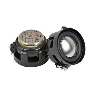 2pcs 30mm Round 8Ohm 2W 8Ω Audio Speaker Stereo Woofer Loudspeaker Trumpet Horn