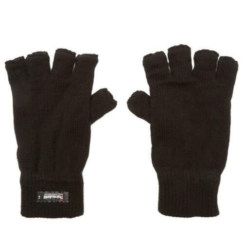 Handschuhe Bekleidung Peter Storm Damen Thinsulate Fingerlose Handschuhe Outdoor-Bekleidung Schwarz